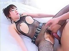 Hottest Japanese girl in Fabulous JAV uncensored Lingerie scene