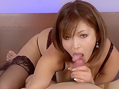 Amazing Japanese slut Mai Kuroki in Hottest JAV uncensored Hardcore clip