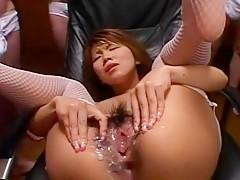 Aya Kashima Uncensored Hardcore Video with Gangbang, Dildos/Toys scenes