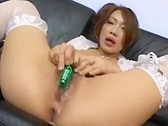 Misaki Aso Uncensored Hardcore Video with Masturbation, Dildos/Toys scenes