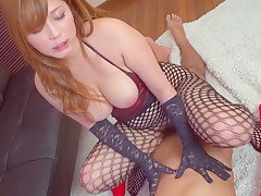 Incredible Japanese chick Haruki Sato in Hottest couple, stockings JAV clip