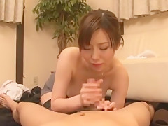 Hottest Japanese girl Nanako Mori in Amazing Big Tits, Blowjob/Fera JAV scene