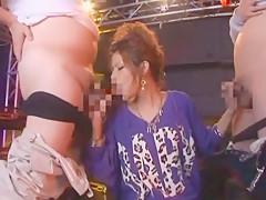 Fabulous Japanese model SARA in Best Threesomes, Facial JAV movie