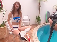 Fabulous Japanese girl Reira Amane in Incredible Cunnilingus JAV scene