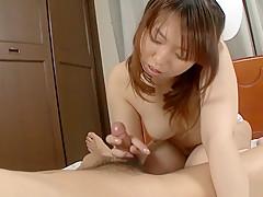 Incredible Japanese slut Ai Ootomo in Exotic JAV uncensored Stockings movie