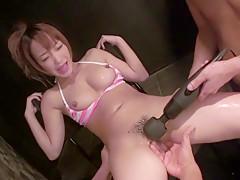 Amazing Japanese whore Sana Anzyu in Hottest JAV uncensored Fingering clip