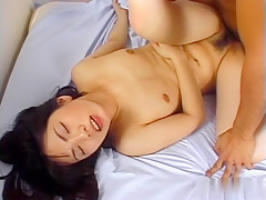 Exotic Japanese model in Horny JAV uncensored Fingering clip