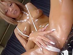 Exotic Japanese slut Riku Hinano in Horny JAV uncensored Masturbation clip