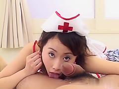 Horny Japanese whore in Best JAV uncensored Foot Job scene