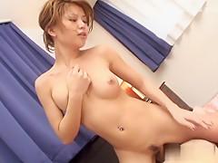 Horny Japanese chick Akane Hotaru in Best JAV uncensored Blowjob scene