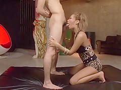 Incredible Japanese girl Riku Hinano in Exotic JAV uncensored Blowjob movie