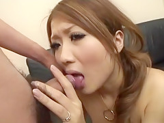 Amazing Japanese slut Hibiki Ohtsuki in Hottest JAV uncensored Blowjob clip