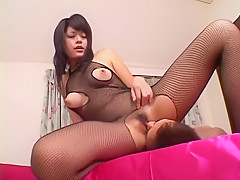 Amazing Japanese chick in Hottest JAV uncensored Creampie clip