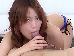 Amazing Japanese model Miruku Ichigo in Hottest JAV uncensored Blowjob clip