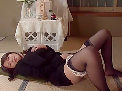 Ai Takeuchi in Embraced Widow part 1.1