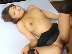Alice Hoshi Uncensored Hardcore Video with Facial scene