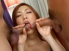 Sayaka Fukuhara Uncensored Hardcore Video with Creampie scene