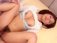 Fabulous Japanese girl Minami Kojima in Hottest JAV censored Hardcore, Hairy video