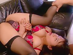 Fabulous Japanese model Hana Haruna in Hottest JAV censored Swallow, MILFs video