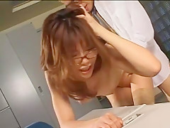 Akane Hotaru in Ero Megane Secretary