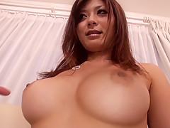 Hottest Japanese girl Haruki Sato in Horny stockings, big tits JAV video