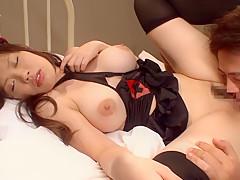 Crazy Japanese girl Juri Sakura in Best nurse, big tits JAV video