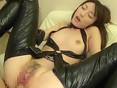 Incredible Japanese model Kanako Iioka in Hottest cunnilingus, masturbation JAV movie