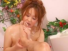 Amazing Japanese slut Chichi Asada in Crazy Massage, Handjobs JAV scene