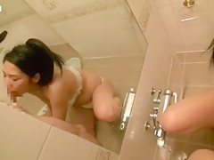 Best Japanese model Rina Fukada in Crazy POV, Blowjob/Fera JAV video