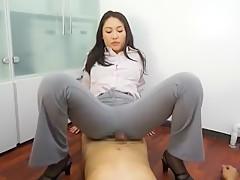 Exotic Japanese chick Ryo Kashima in Hottest POV JAV video