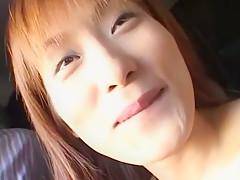 Horny Japanese model Ryoko Mitake in Amazing Blowjob/Fera JAV movie