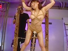 Hottest Japanese girl Yuri Sato 2 in Horny Fetish, BDSM JAV movie