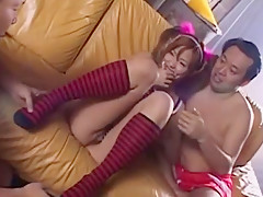 Fabulous Japanese slut Risa Coda in Best Compilation, Threesomes JAV video