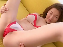 Fabulous Japanese slut Mai Izuki in Crazy Cunnilingus, Wife JAV clip
