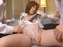 Hottest Japanese slut Rio Hamasaki in Incredible Dildos/Toys JAV movie