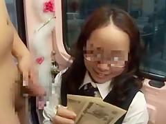 Exotic Japanese slut Nozomi Hara in Incredible College/Gakuseifuku JAV scene