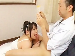 Best Japanese model An Shinohara in Crazy POV, Blowjob/Fera JAV clip