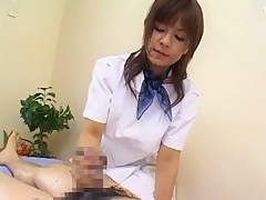 Exotic Japanese model Rin Yuuki in Amazing Handjobs, Massage JAV clip
