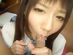 Fabulous Japanese model Yurika Miyaji in Amazing Blowjob/Fera, POV JAV video