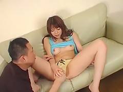 Fabulous Japanese girl Sayaka Kimijima in Incredible JAV video