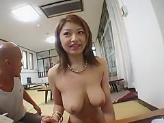 Best Japanese model Alice Hoshi in Amazing Big Tits JAV clip