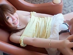 Horny Japanese girl Nana Asahi in Fabulous Public JAV clip