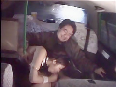 Hottest Japanese girl Kokoro Hanano in Crazy Car JAV movie