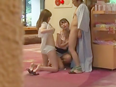 Exotic Japanese whore Nao Mizuki, Wakana Kinoshita, Rio Hamasaki in Hottest Threesomes, Cunnilingus JAV clip