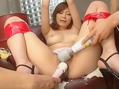 Incredible Japanese model Haruki Sato in Horny Fingering, Masturbation/Onanii JAV video