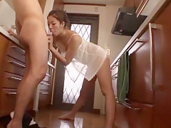 Exotic Japanese slut Yumeka Manatsu in Incredible Wife JAV video