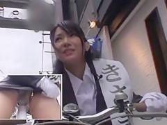 Hottest Japanese whore Yua Sasaki in Horny Outdoor, Stockings/Pansuto JAV movie