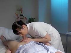 Exotic Japanese girl Arisu Tsukishima, Riri Kuribayashi, Megumi Shino in Crazy Small Tits JAV scene