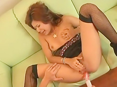 Fabulous Japanese slut Ai Kawamoto, Arisa Chigasaki in Amazing Fingering, Dildos/Toys JAV clip