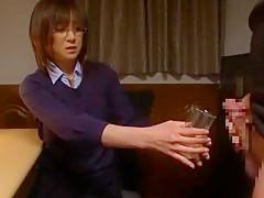 Fabulous Japanese model Ai Komori in Crazy Office JAV movie